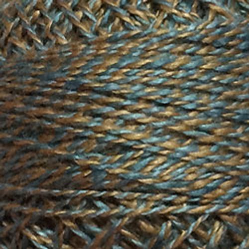 PT7 - Teal Twisted Tweed, Variegated