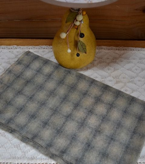 Barnwood (V1) on Soft Gray Plaid