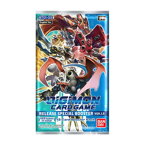 Digimon TCG - Release Special Booster Pack - Ver.1.5