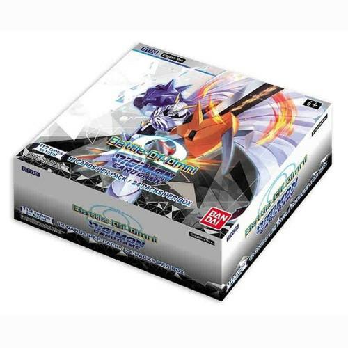 Digimon TCG - Booster Display Battle of Omni
