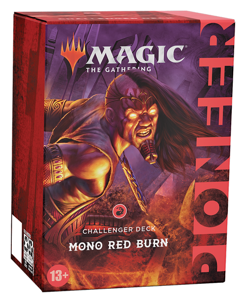 Pioneer Challenger Deck - Mono Red Burn