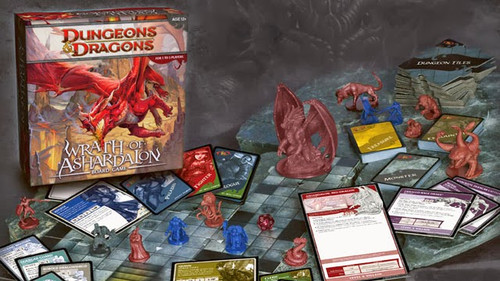Dd Board Game Wrath Of Ashardalon Nlg