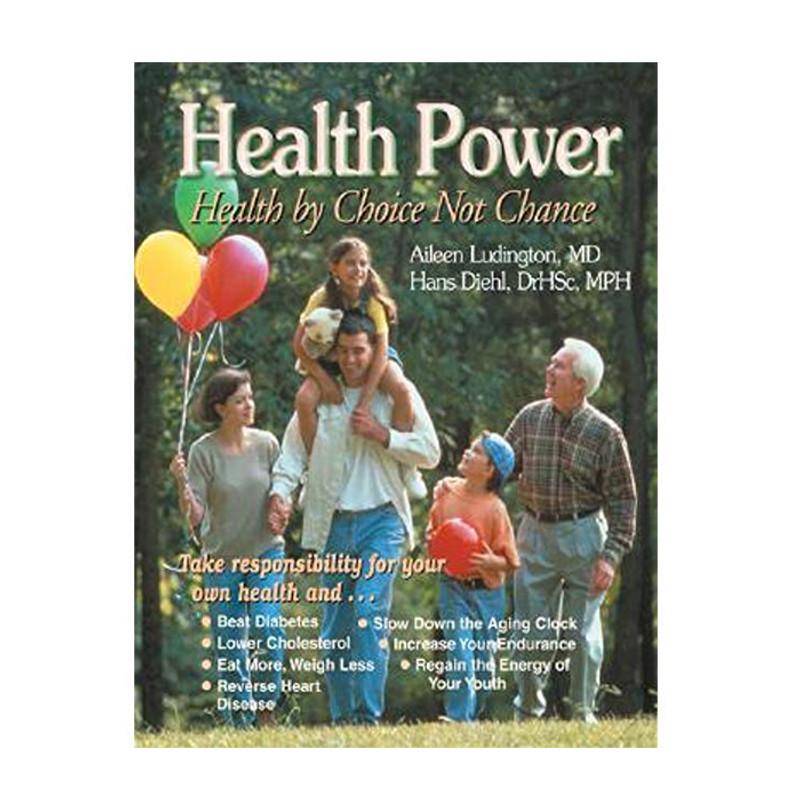 Health Power by Aileen Ludington, MD & Hans Diehl, DrHSc Hardback