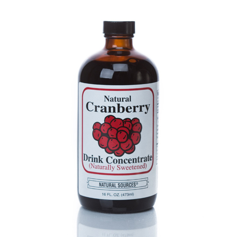 Natural Sources Cranberry Juice Concentrate 8 oz