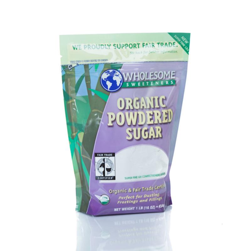 Organic Powdered Sugar 1 lb