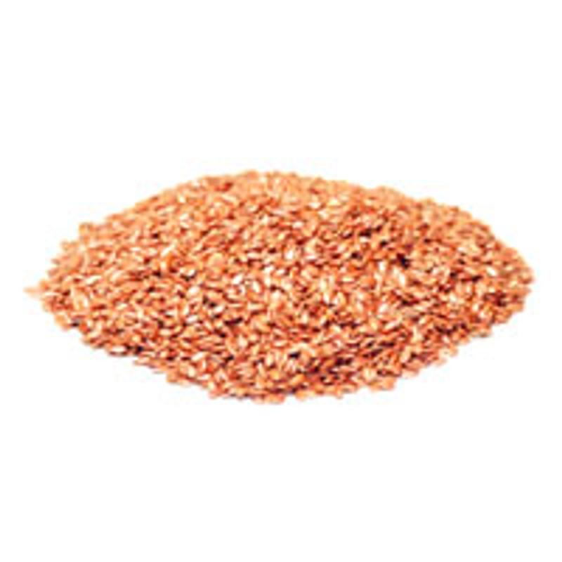 Flax Seeds - Organic - Dark Brown - Bulk 402