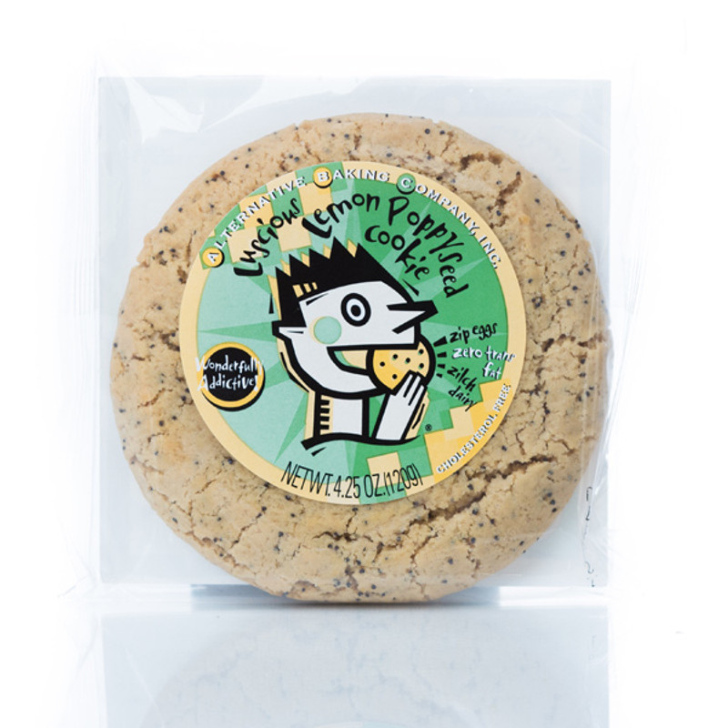 ABC Lemon Poppyseed Cookie