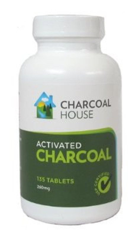 Charcoal House Activated Charcoal Tablets 135 tabs