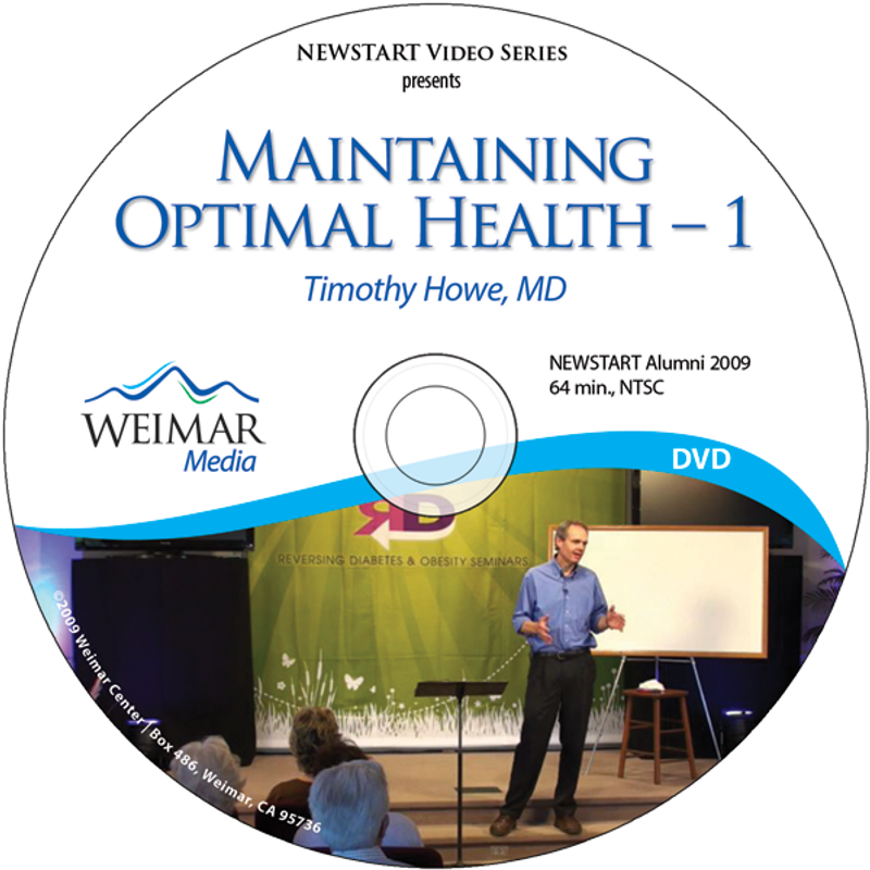 Maintaining Optimal Health - 1 [DOWNLOAD]