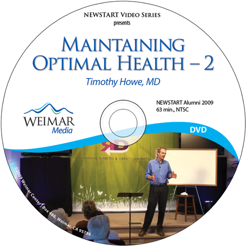 Maintaining Optimal Health - 2 [DOWNLOAD]