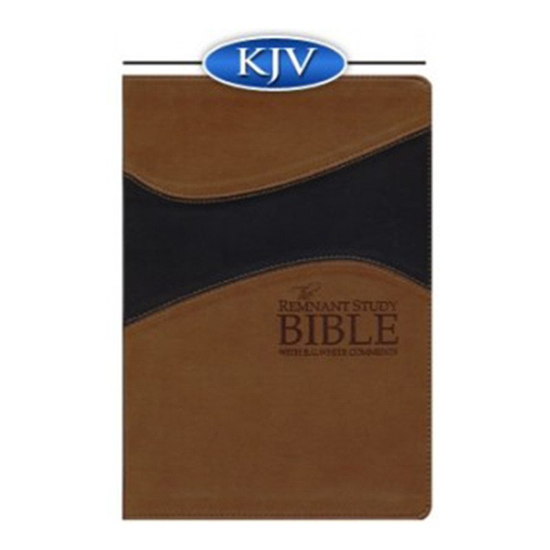 The Remnant Study Bible KJV- Brown & Black Leathersoft