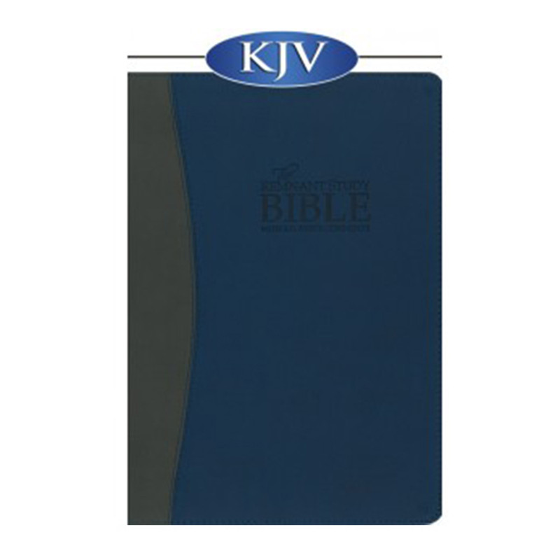 The Remnant Study Bible KJV- Blue & Gray Leathersoft
