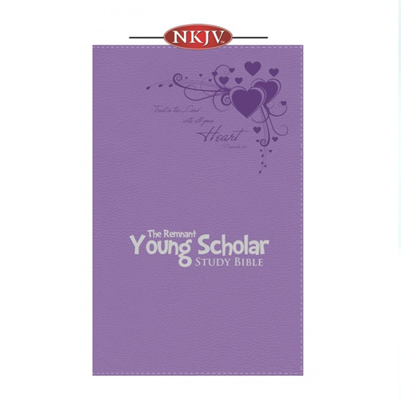The Remnant Young Scholar Study Bible- NKJV Lavender Leathersoft