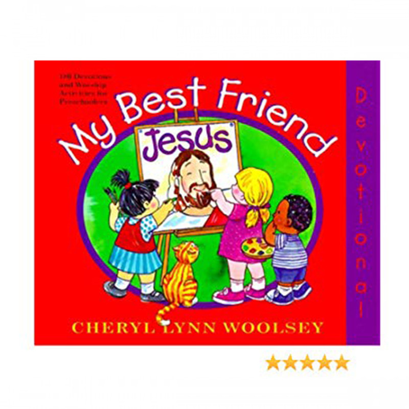 My Best Friend Jesus-180 Devotions & Worship activities for Preschoolers