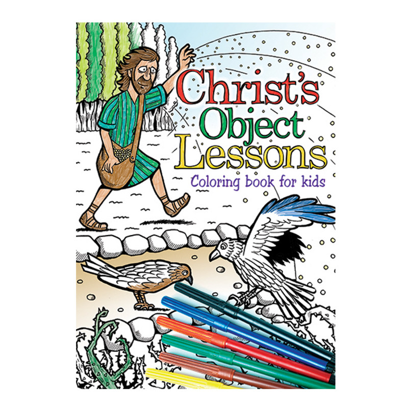 Christ's Object Lessons Coloring Book for Kids