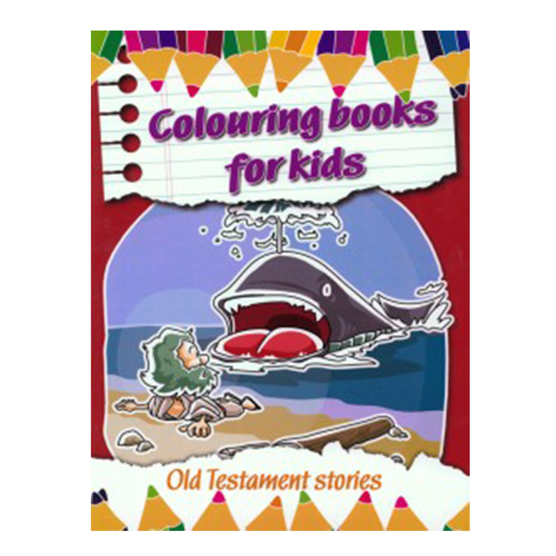 Coloring Books for Kids- Old Testament Stories