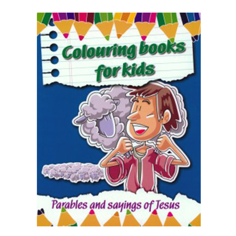Coloring Books for Kids- Parables and Sayings Of Jesus