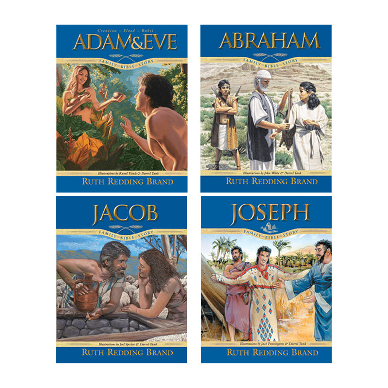Family Bible Story 4 Book Set- Ruth Redding Brand