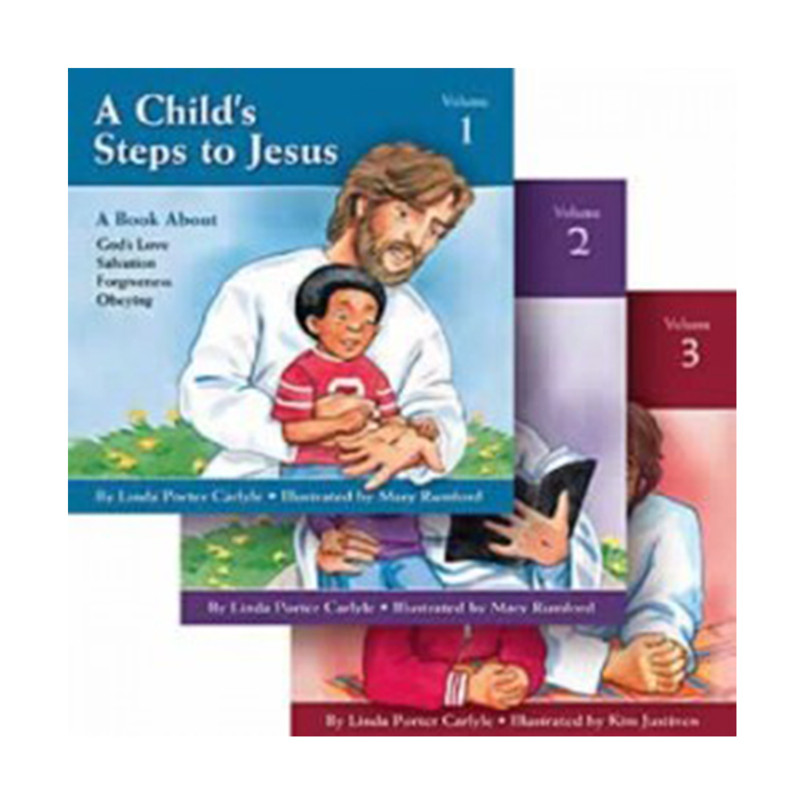 A Child's Steps to Jesus - 3 Volume Set