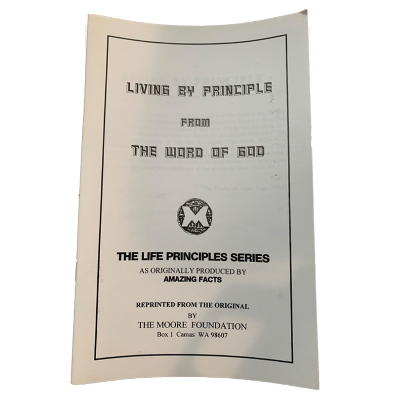 Living By Principle From The Word of God