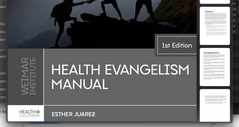Health Evangelism Manual - PDF
