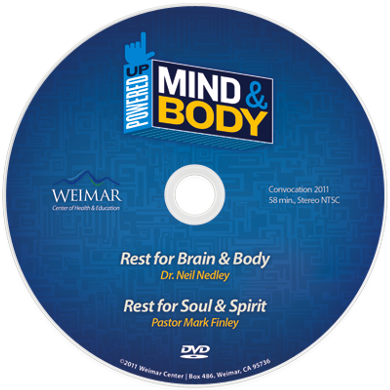 "Powered Up! Mind and Body ""Rest"" vol. 8( Digital Download)"