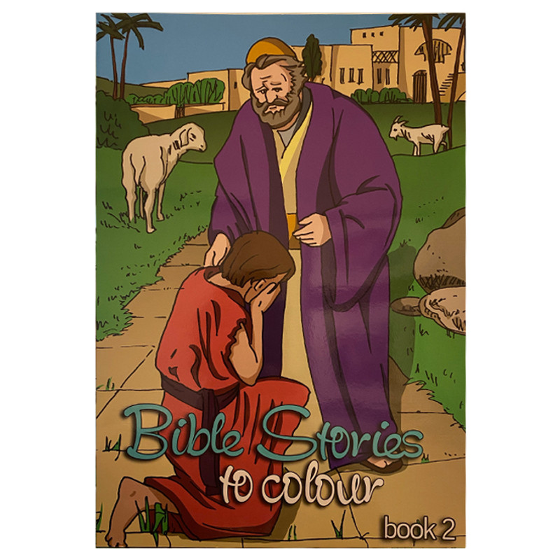 Bible Stories Coloring Book- Book 2