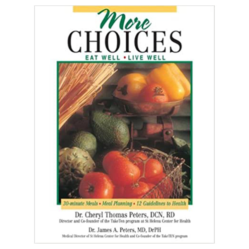 More Choices- Eat Well, Live Well- Cheryl D. Thomas-Peters RD