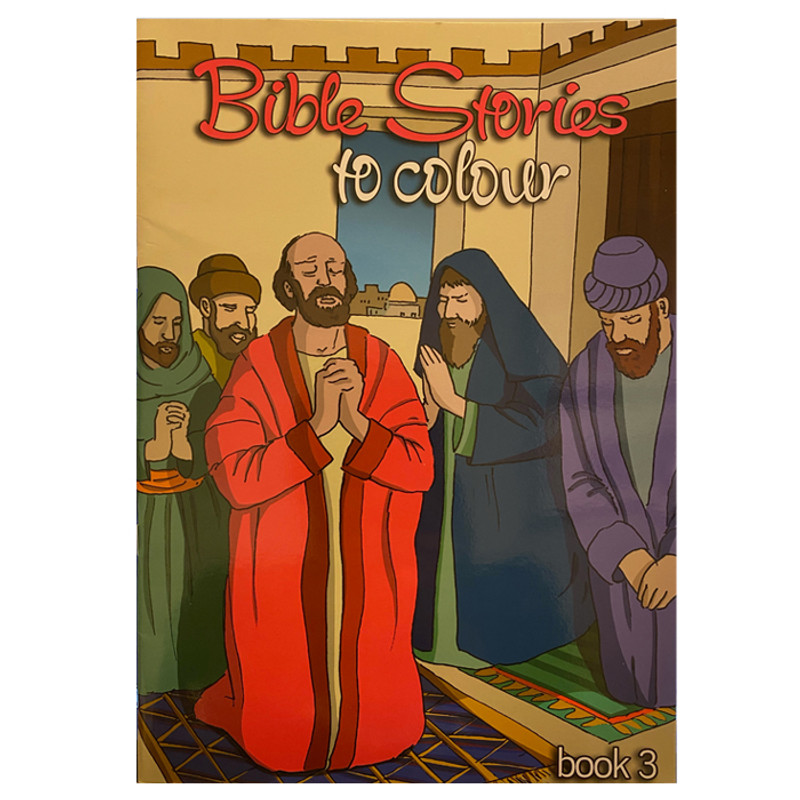 Bible Stories to Color- Book 3