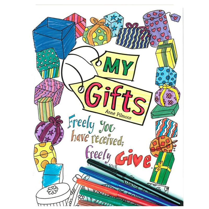 My Gifts Coloring Book - Anne Pilmoor