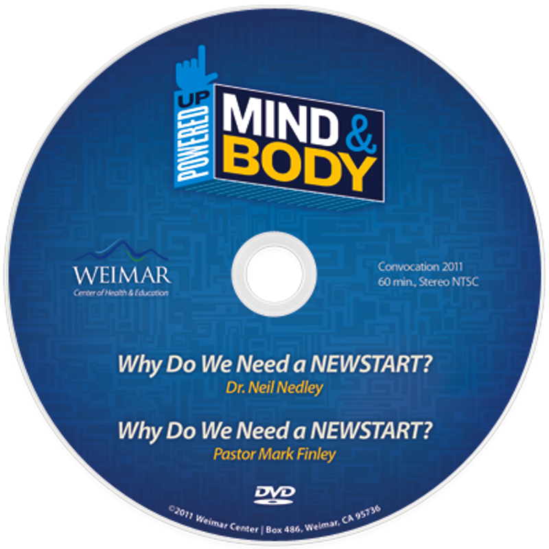 """Powered Up! Mind and Body  """"Why a NEWSTART?"""" vol. 1b(Digital Download)"""