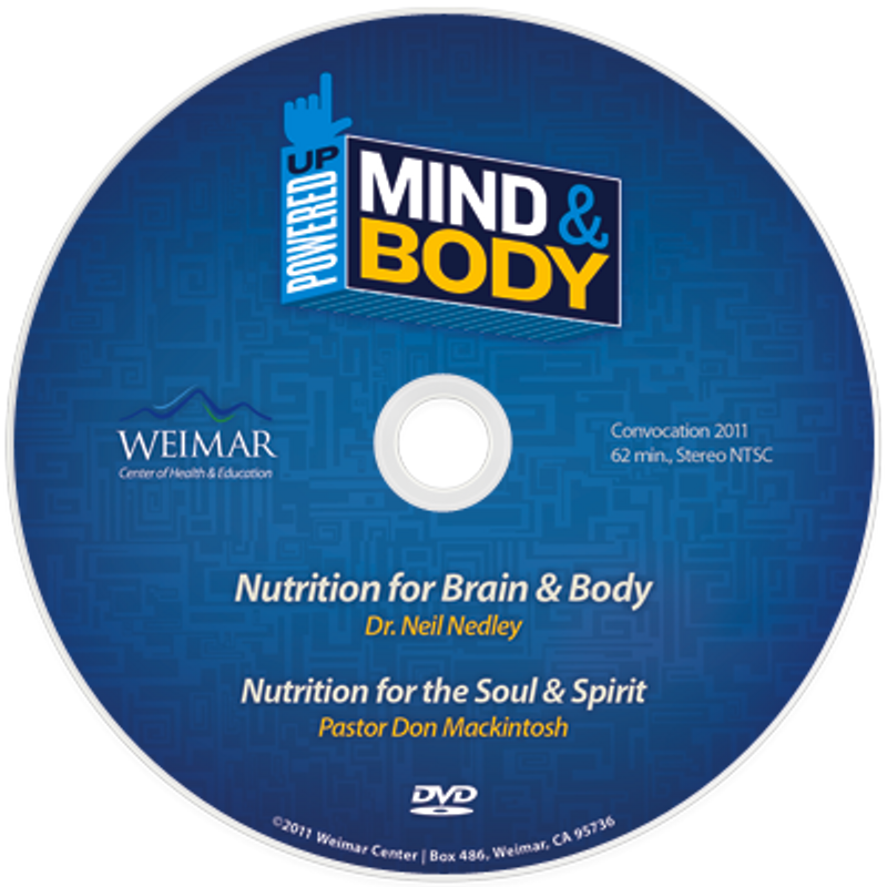 """Powered Up! Mind and Body  """"Nutrition"""" vol. 2(Digital Download)"""