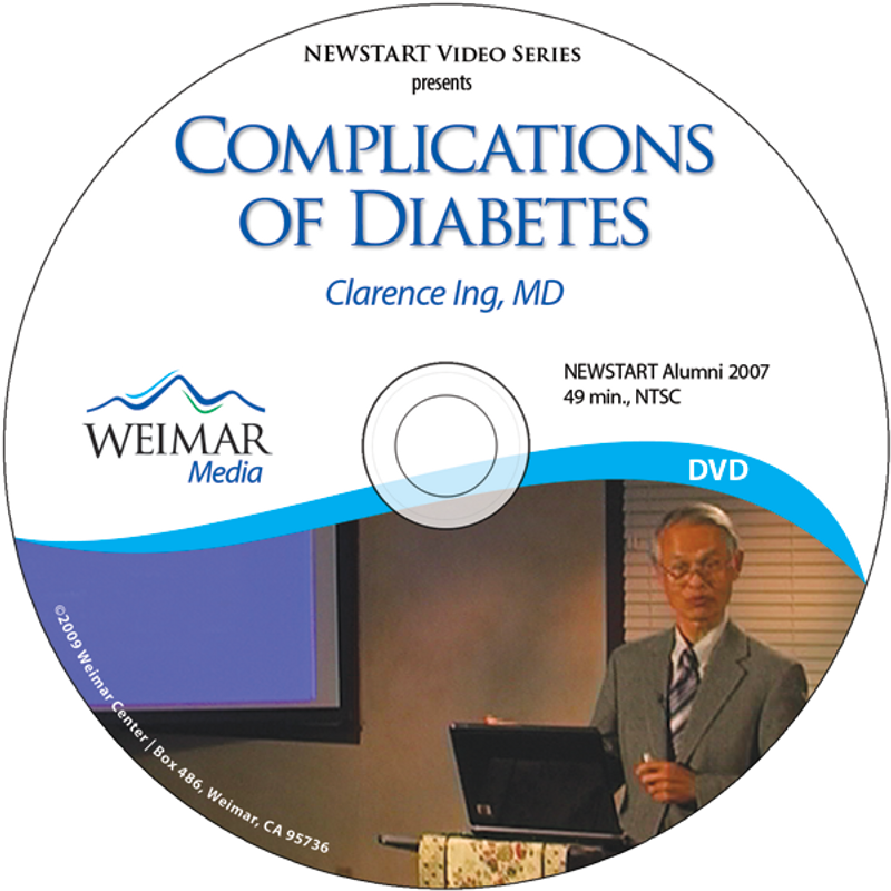 Complications of Diabetes, Dr. Ing
