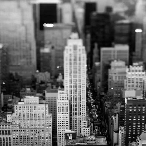 Telik Tracey Fifth Ave NYC fotografia cm87X87 Immagine su CARTA TELA PANNELLO CORNICE Quadrata