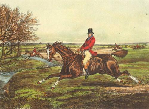 Henry Alken L'inglese Hunt II Animali & Natura cm36X50 Immagine su CARTA TELA PANNELLO CORNICE Orizzontale