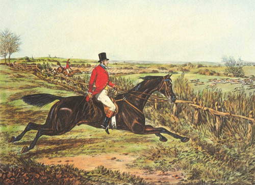 Henry Alken L'inglese Hunt III Animali & Natura cm36X50 Immagine su CARTA TELA PANNELLO CORNICE Orizzontale