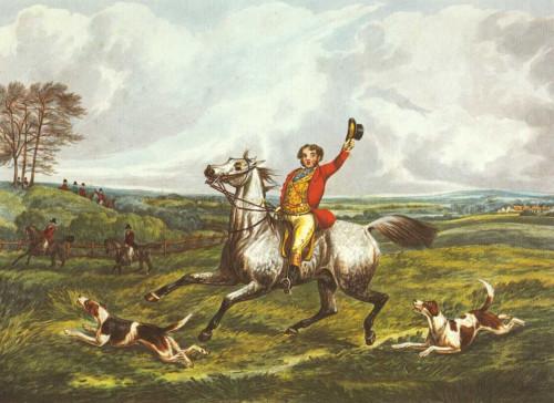 Henry Alken L'inglese Hunt VI Animali & Natura cm36X50 Immagine su CARTA TELA PANNELLO CORNICE Orizzontale