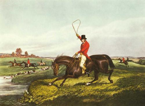Henry Alken L'inglese Hunt VIII Animali & Natura cm36X50 Immagine su CARTA TELA PANNELLO CORNICE Orizzontale