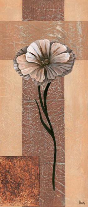 Hedy creazione VI Floreale cm128X54 Immagine su CARTA TELA PANNELLO CORNICE Verticale