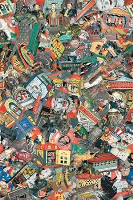 Jones Bill Ghisa Banks meccaniche 2 museo cm114X75 Immagine su CARTA TELA PANNELLO CORNICE Verticale