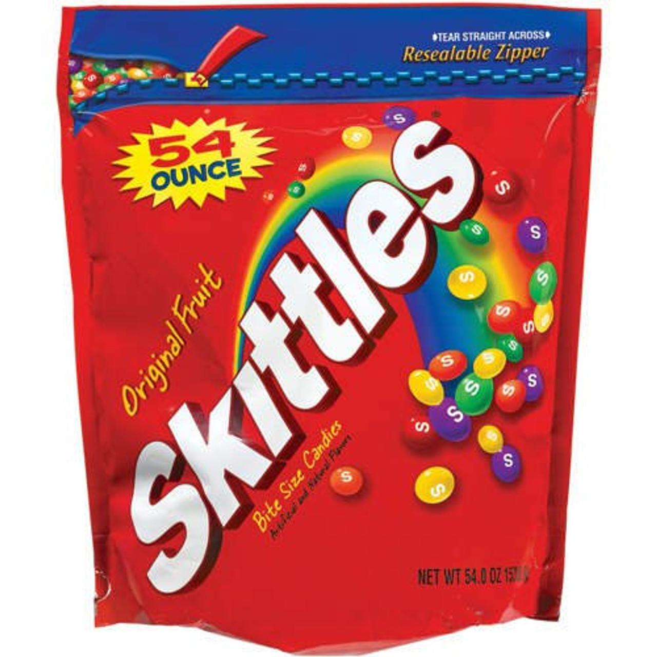 Skittles Bulk Candy 54oz Bag Gumballs Com