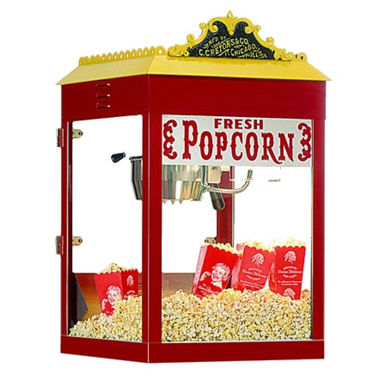 Antique T2000 Popcorn Machine - 8oz Kettle Size