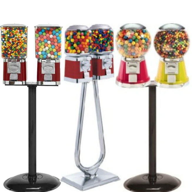 Double Vend Gumball Machines