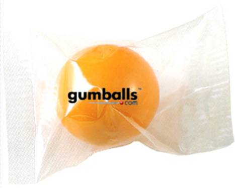Wrapped gumballs