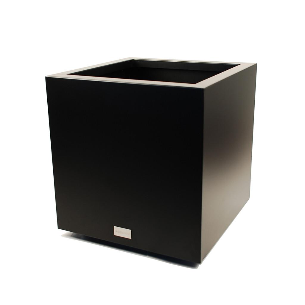 "Veradek Cube Large Planter Black 21"" or 27"""