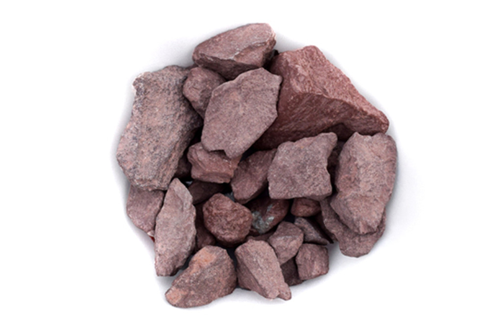 "Autumn Red Pebbles 3/8"""