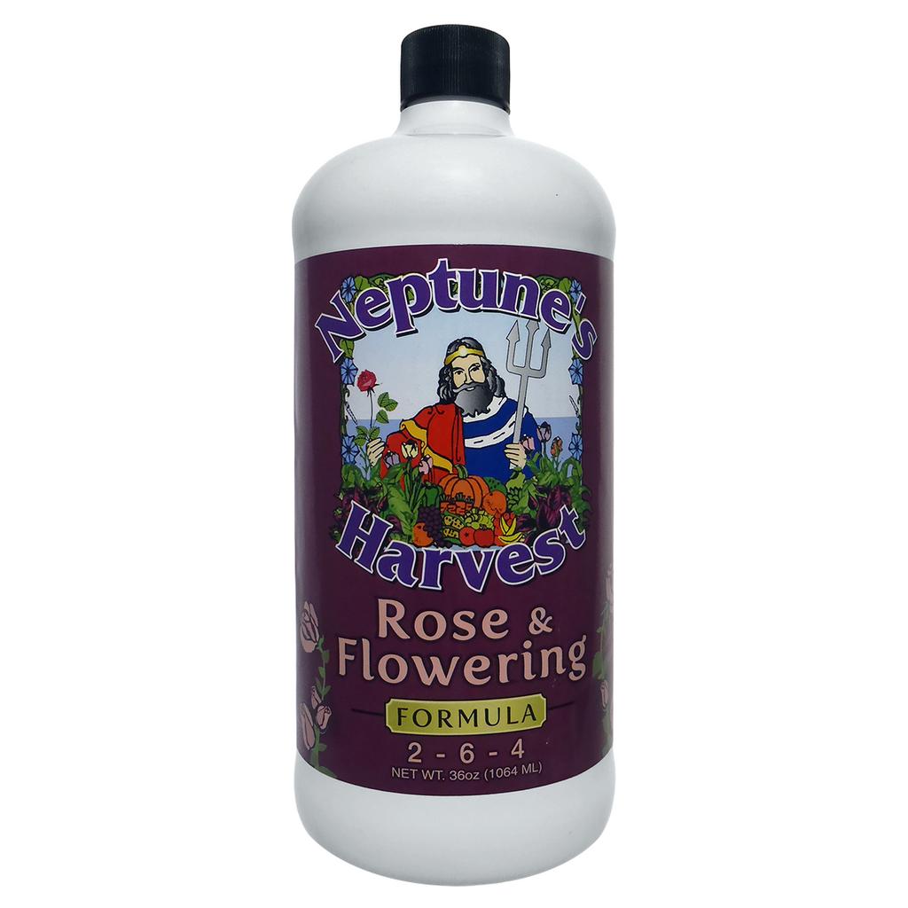 Neptune's Harvest Rose & Flowering Formula 2-6-4 32oz