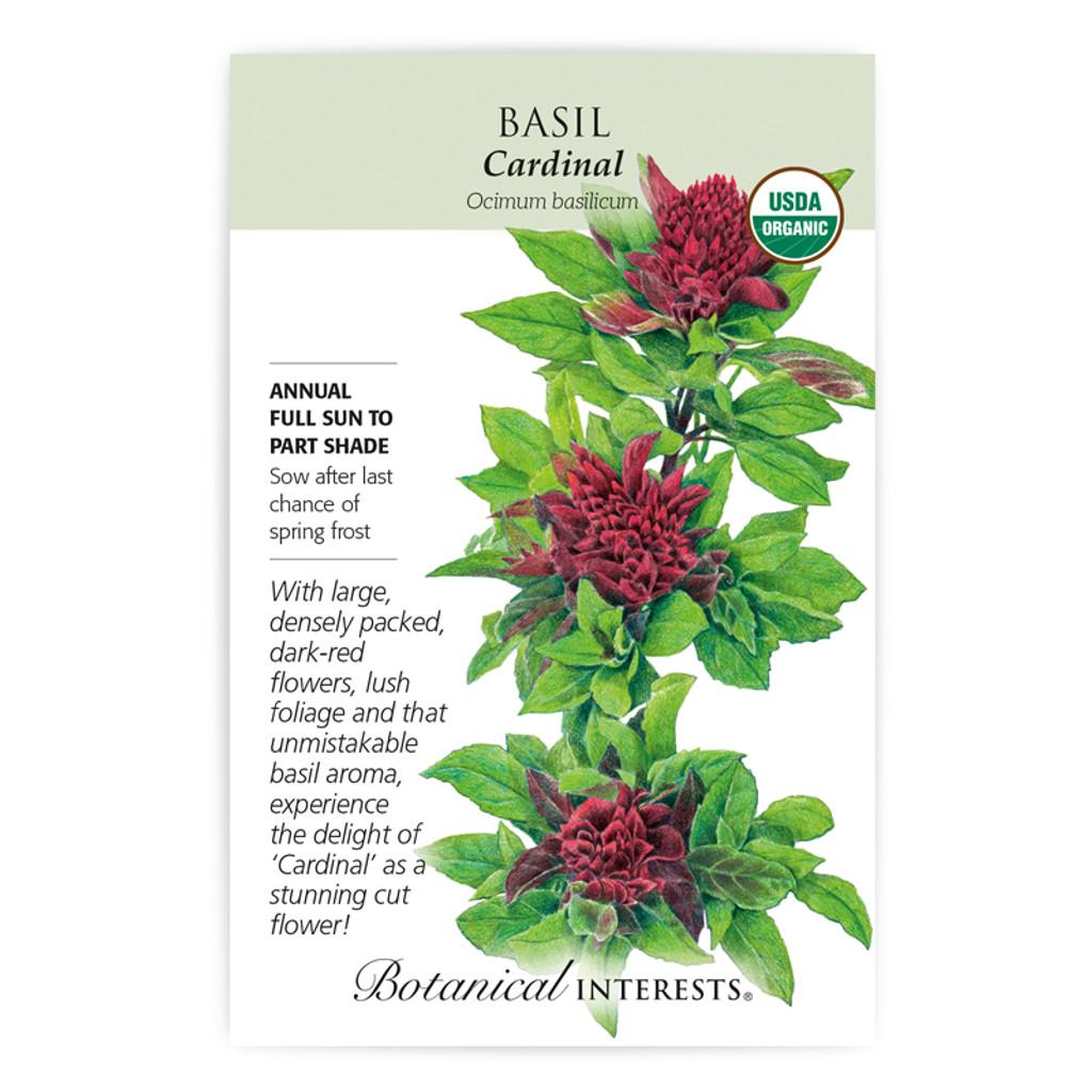 Basil Cardinal Organic