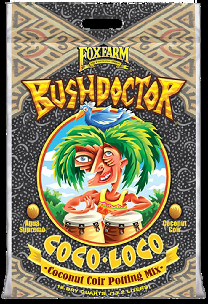 FoxFarm Bush Doctor Coco Loco Coconut Coir Potting Mix 12qt
