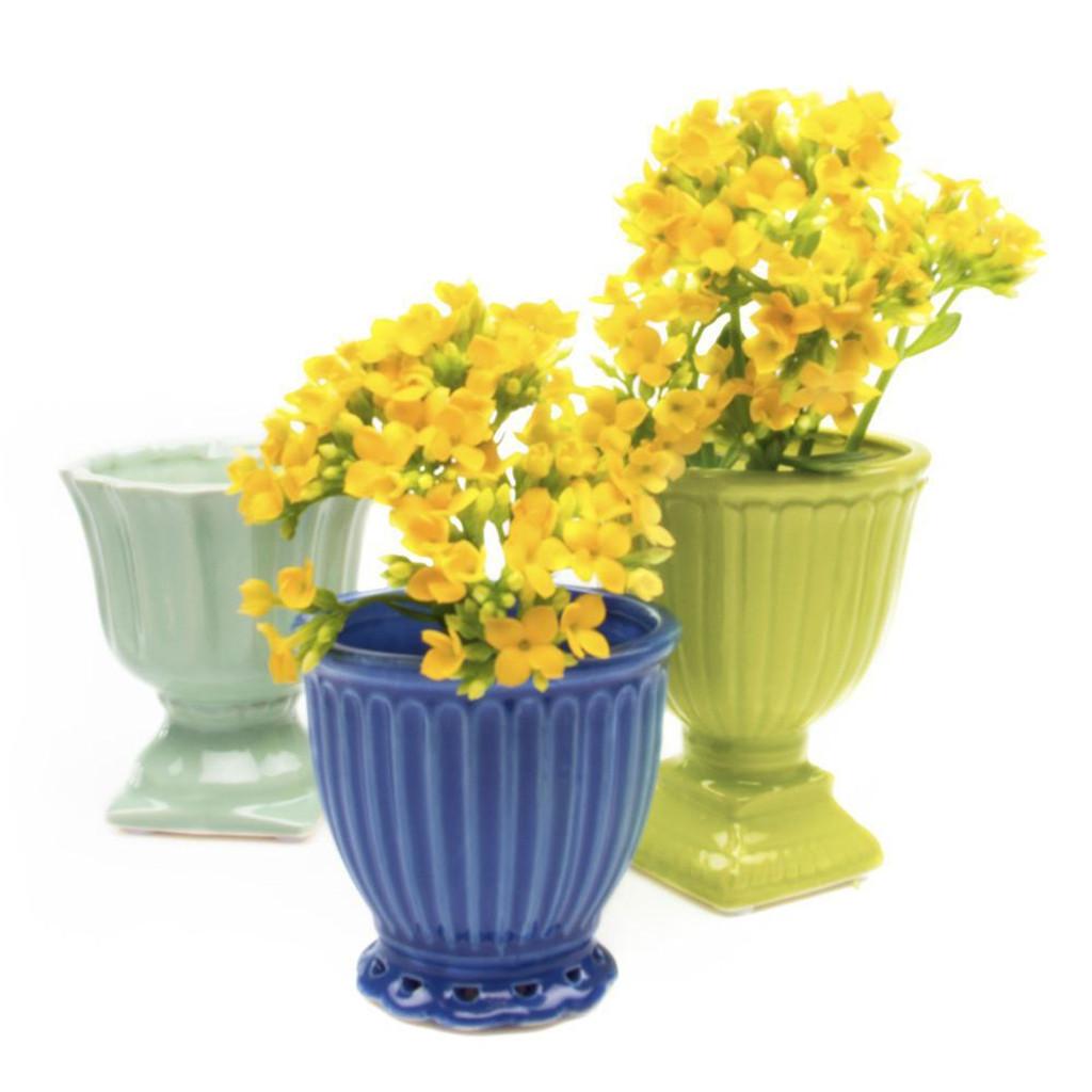 """Ceramic Brilliant Planter 2.75"""""""